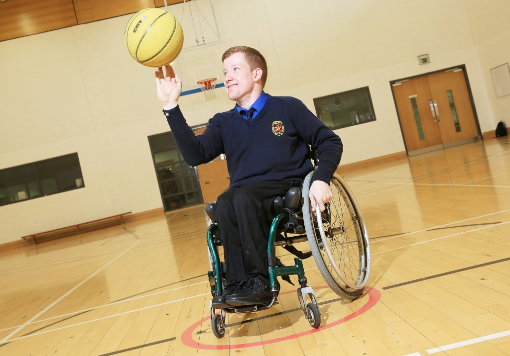 De La Salle student Kenny Murphy is part of the Irish team that will travel to Bosnia next month to compete in the U17 wheelchair basketball European Championships