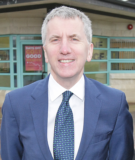 Máirtín Ó Muilleoir focuses on health and education