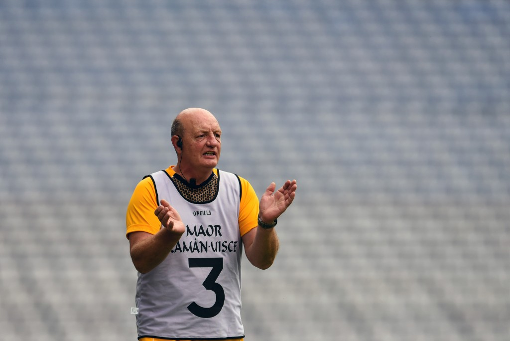 Terence 'Sambo' McNaughton feels the Ulster SHC would benefit from an earlier slot in the GAA calendar. Antrim are set to take on Derry in the provincial semi-final in Armagh on Sunday