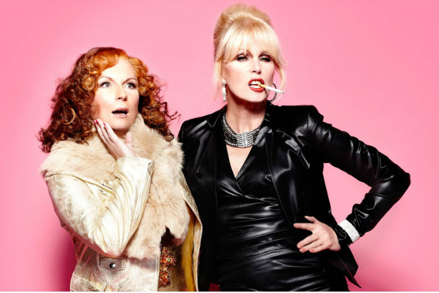 STYLE: Absolutely Fabulous have moved from TV to the big screen