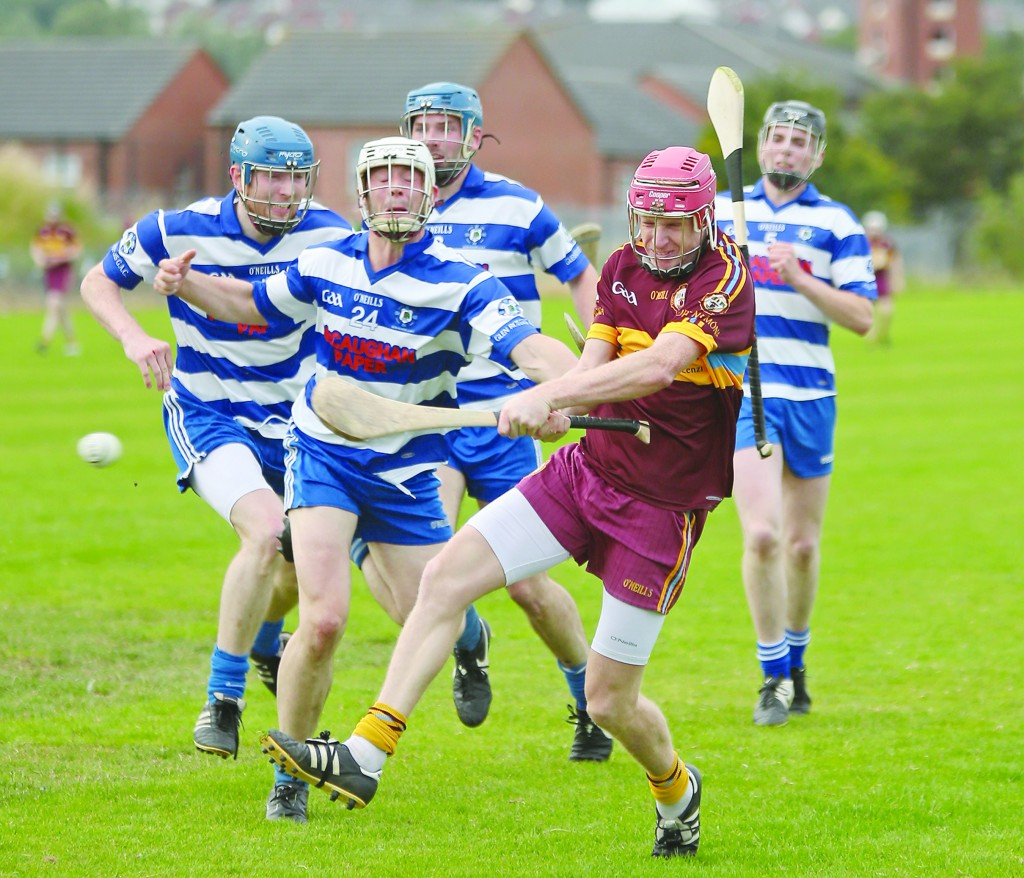 Gort na Móna star Desy McClean will be hoping to lead his side past Rasharkin in the Antrim Intermediate Hurling Championship preliminary round at Ahoghill on Saturday (5pm)