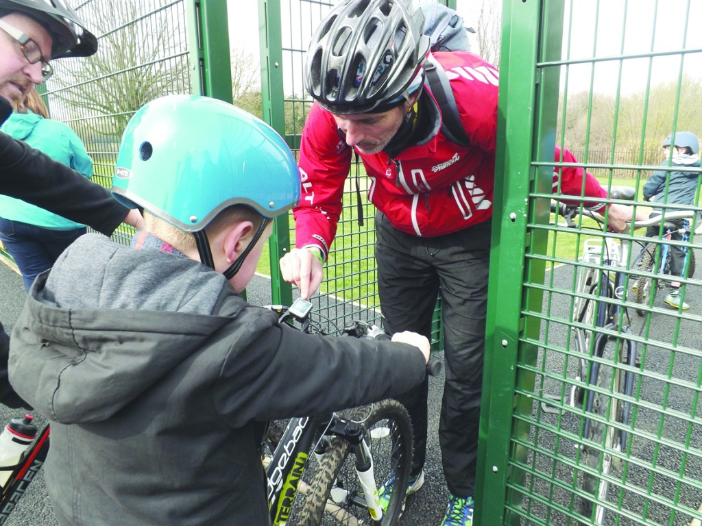 Autism Initiatives is working hard to give children the skills needed to cycle safely to and from school each day