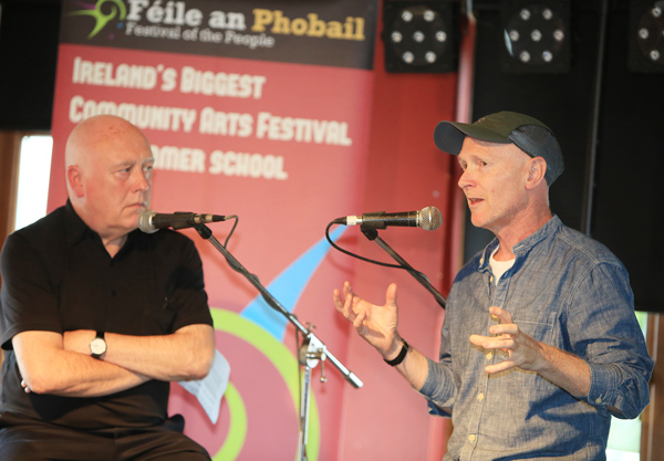Danny Morrison in conversation with Ken Loach's screenwriting partner Paul Laverty