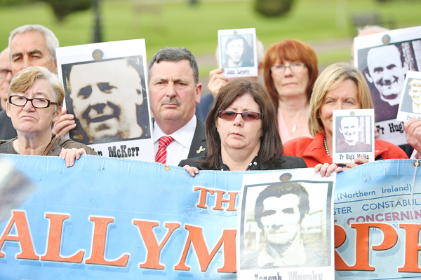 Ballymurphy Massacre Families say they were 'disappointed' with the Secretary of State's attitude in a meeting that lasted 45 minutes.