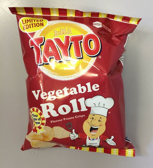 FLAVOUR OF THE MONTH: Tayto's new veggie roll crisps proved to be something of a let-down