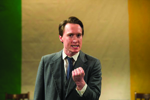 Dominic MacHale plays Michael Collins