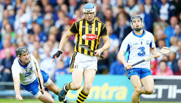 FIRST GOAL:  Kilkenny's TJ Reid, pictured in action against Waterford in the semi-final replay, is good value at 6/1 to bag the first goal in Sunday's All-Ireland SHC final against Tipperary in Croke Park