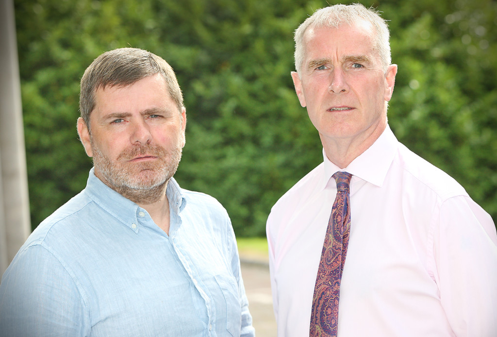 POINTS OF VIEW: Lagmore residents Mark Thompson and Jim Clinton