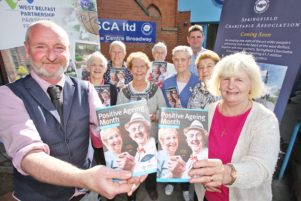 Springfield Charitable Association (SCA) and West Belfast Partnership Board (WBPB) teams get behind the upcoming October festival