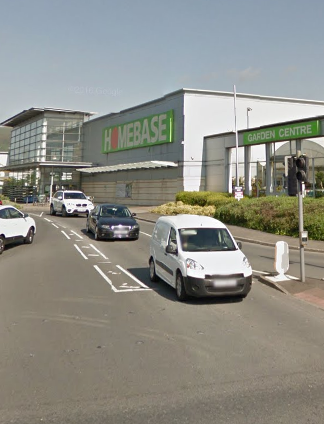 Homebase at Shane Retail Park on the Boucher Road