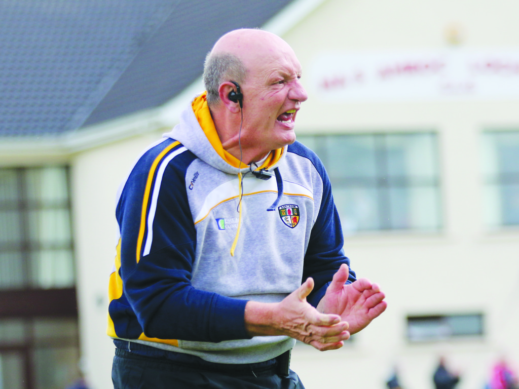 Antrim manager Terence 'Sambo' McNaughton has urged the counnty's hurlers to fully commit the panel for the 2017 campaign
