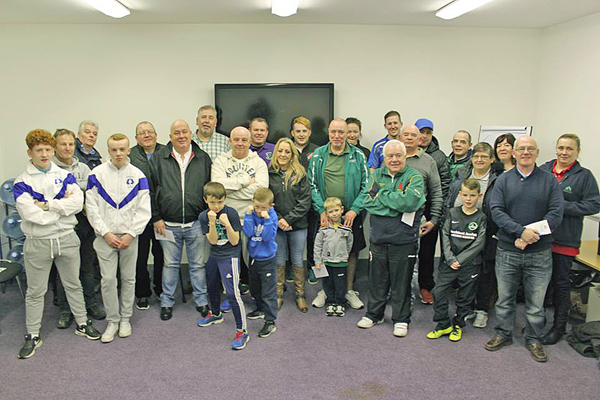 A HELPING HAND: Some of the New Lodge beneficiaries of last year's Ashton Community Bursaries