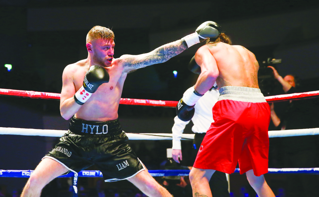 Paul Hyland is hoping victory on Saturday can lead him to the cusp of a British title shot