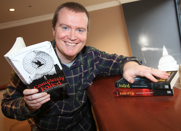 Local author Laurence Donaghy is set to host writing workshops from Saturday