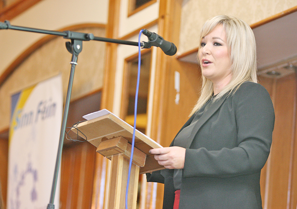 Health Minister Michelle O'Neill has outlined to the Assembly her vision for the future