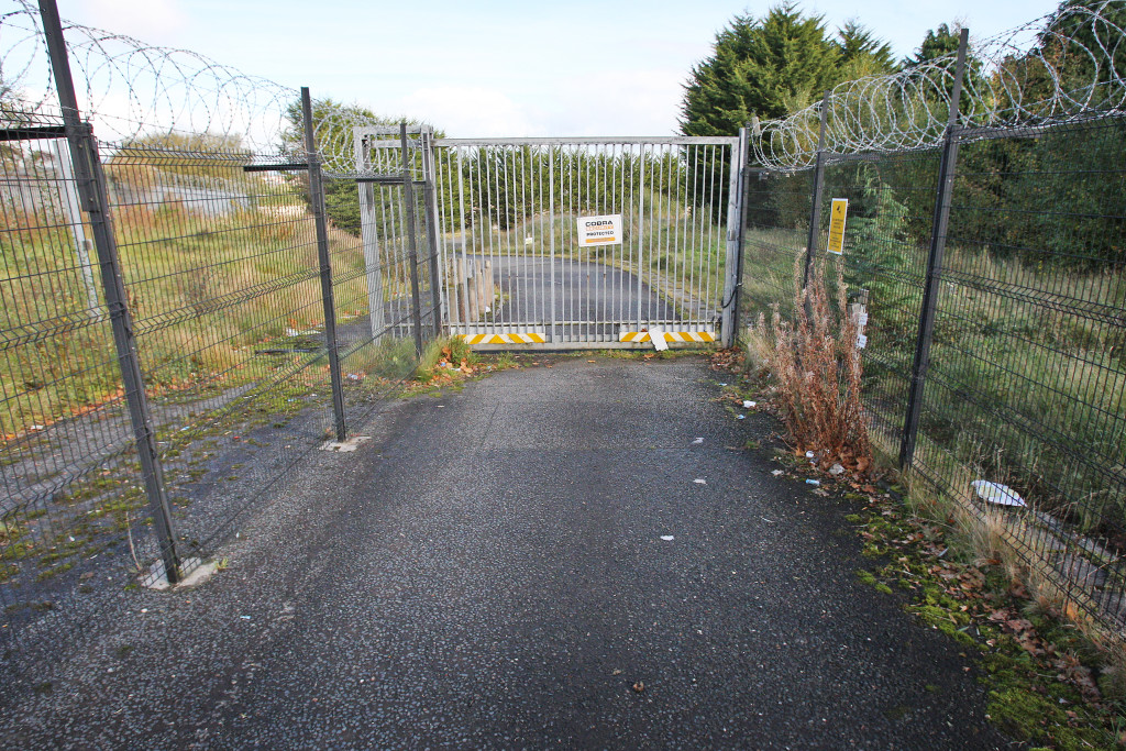 VACANT: The former Visteon factory lies empty in Finaghy