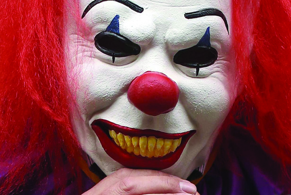 'Killer clowns' have caused much controversy in recent weeks