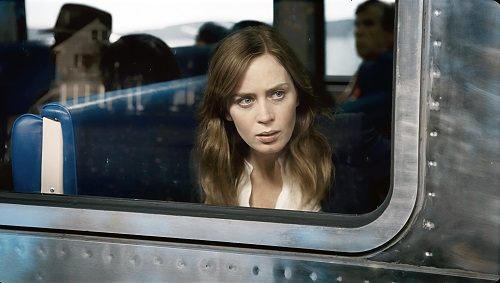 LOOKING BACK: Emily Blunt is the girl on the train