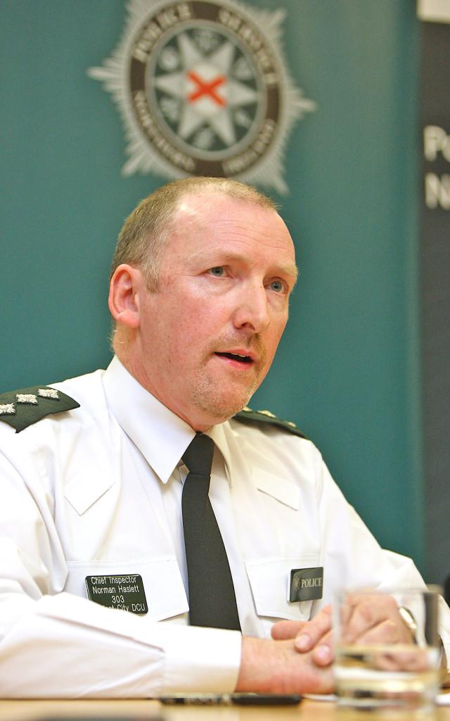 CLARITY:Inspector Norman Haslett