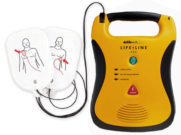 A lifesaving defibrillator was stolen from Vivo on Ormeau Road