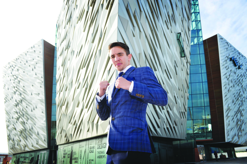Michael Conlan will call Los Angeles his home from January after signing for Top Rank Mandatory Credit ©INPHO/Presseye/Stephen Hamilton