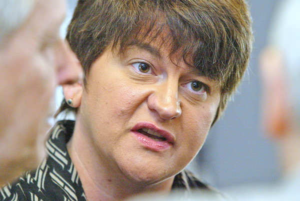 Arlene Foster remains in office amidst the gathering storm