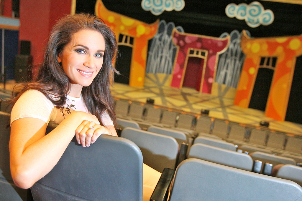 Finaghy actress Jolene O'Hara stars as Jasmine in this year's Pantomime, Aladdin at the Waterfront Hall.