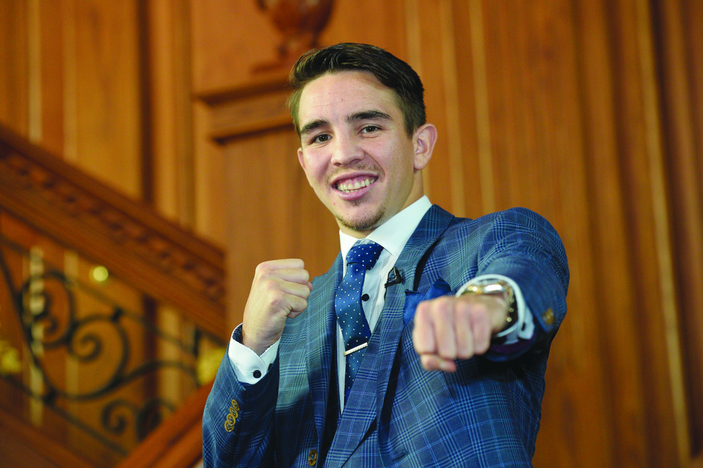 Michael Conlan is hopeful he will box in Belfast in the second half of 2017 Photograph by Stephen Hamilton/Presseye