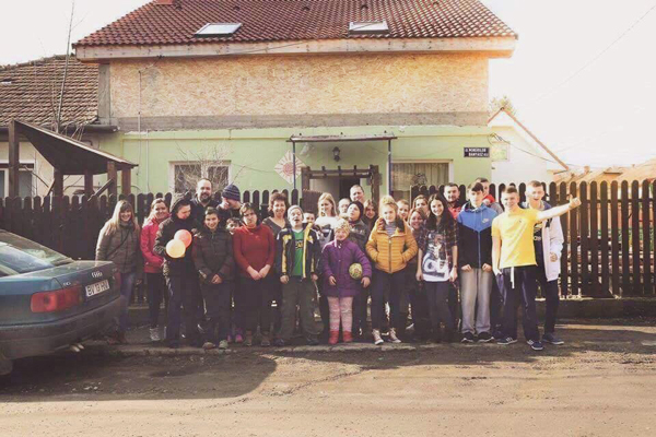 The Romania Project has been running since 2015 involving young people from the New Lodge area