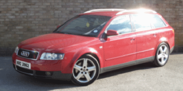 Police are keen to trace the movements of a red Audi, which was found burnt out in Culmore Gardens on Sunday night