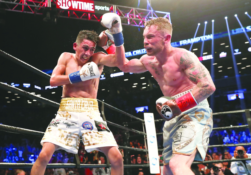Carl Frampton and Leo Santa Cruz served up a 'fight of the year' contender at the Barclays Centre in Brookly back in July. Expect another classic when they renew hostilities at the MGM Grand Garden Arena on Saturday night