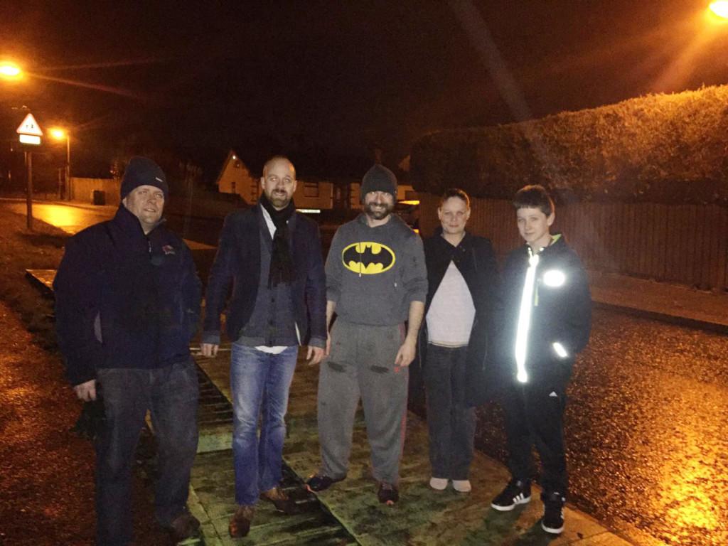Batman Bell with his super hero friends