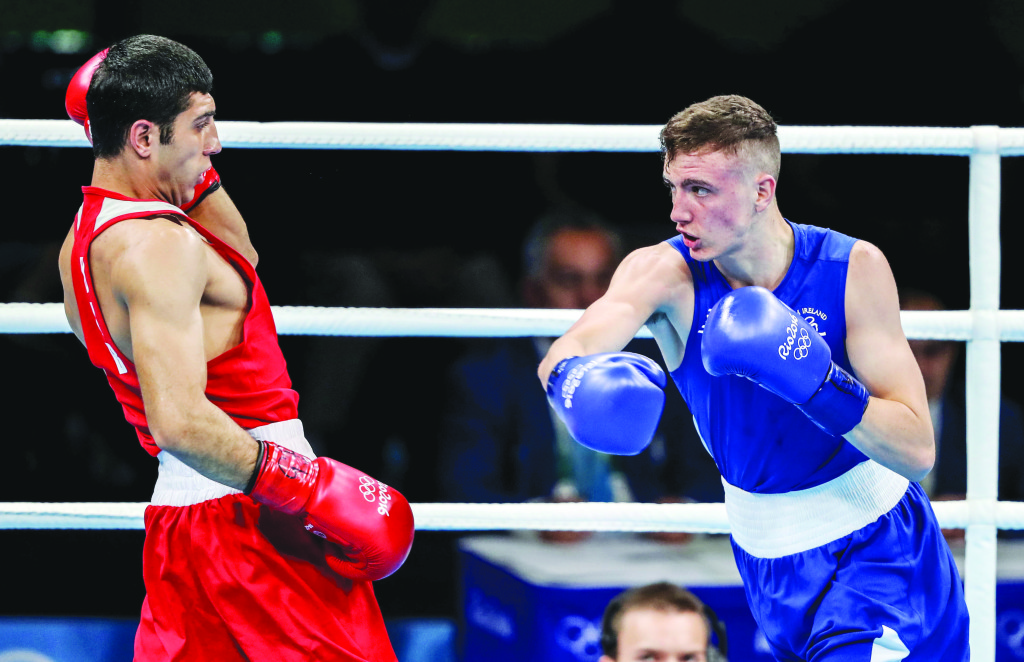 Having boxed at last summer's Rio Olympics, a National Elite final holds no fears for Brendan Irvine