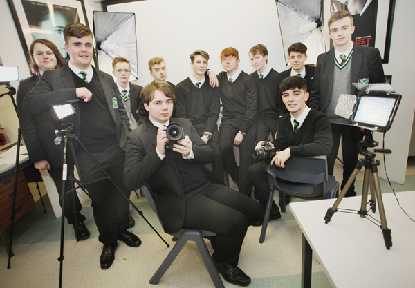 St Malachy's College boys are showing great talent in their Moving Image studies