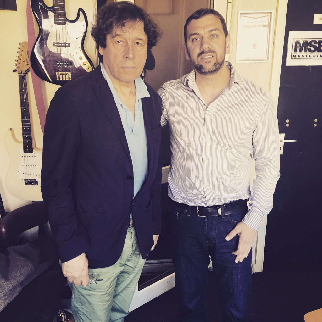 Stephen Rea with Sean Murray of Respect