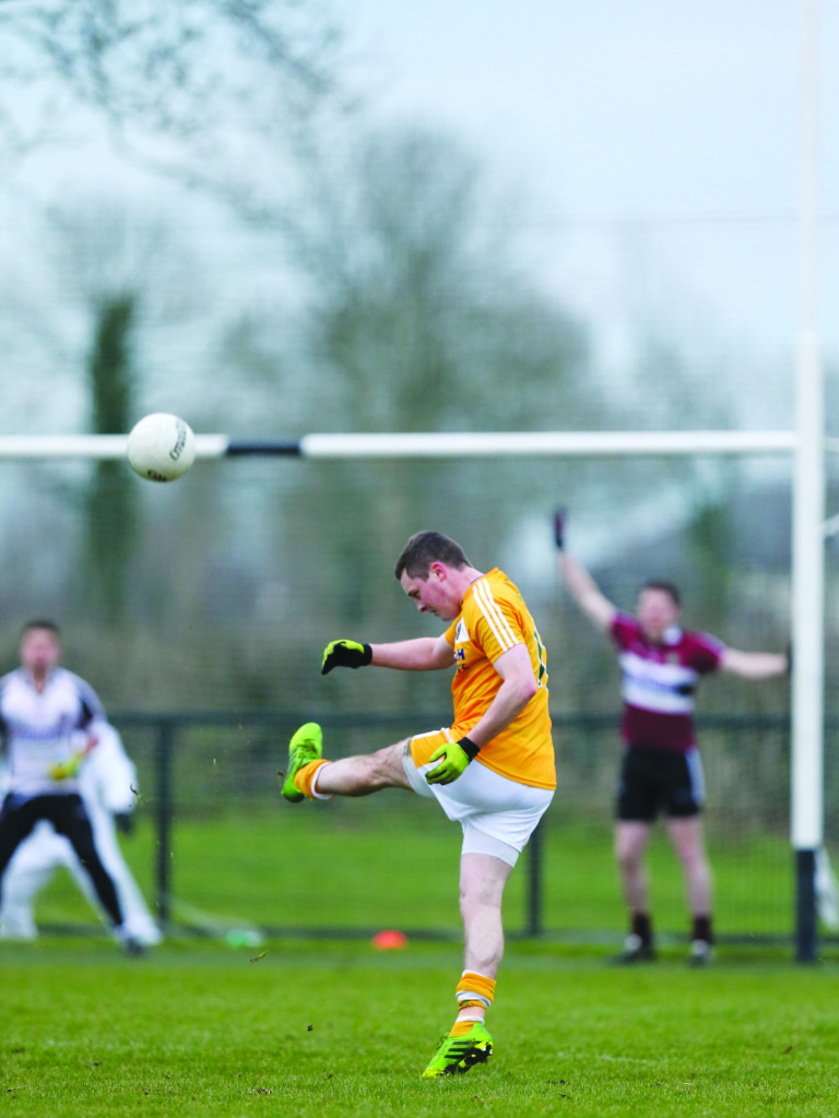 CJ McGourty has returned to the Antrim panel ahead of Sunday's NFL opener away to Tipperary