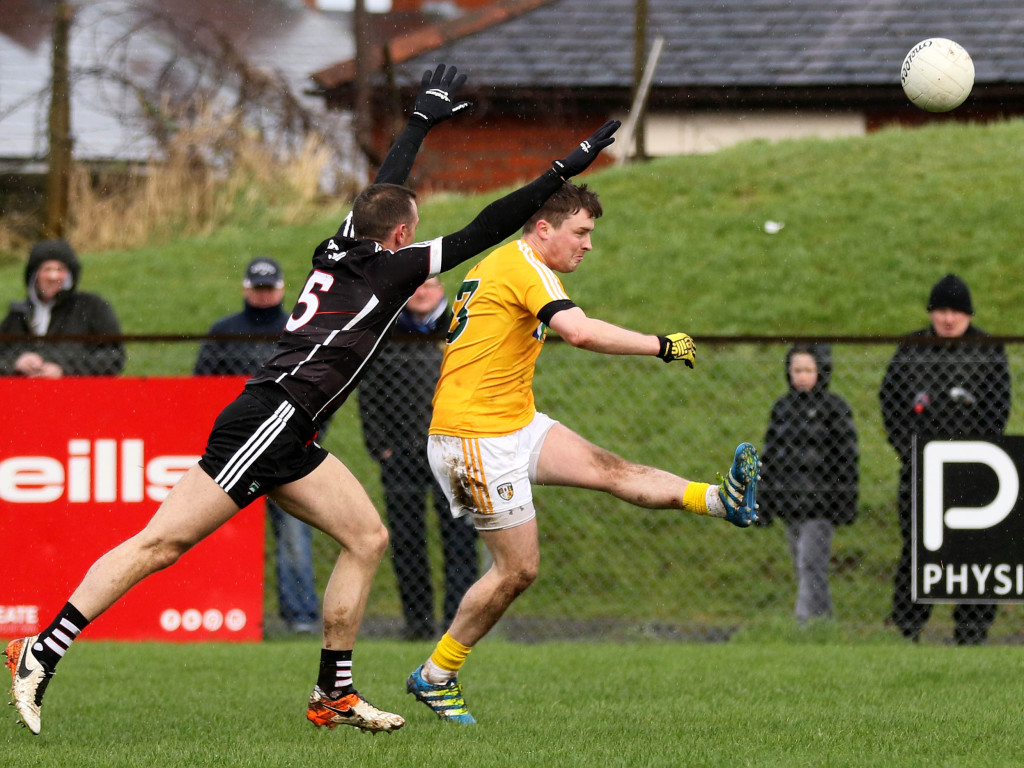 CJ McGourty says Antrim must build on their one-point win over Sligo if they are to trouble Louth this Sunday in Drogheda