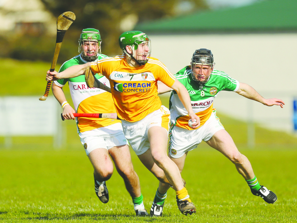 Antrim's Paul Shiels should be fit to feature against Armagh on Sunday despite picking up a hand injury in last weekend's win over Kildare