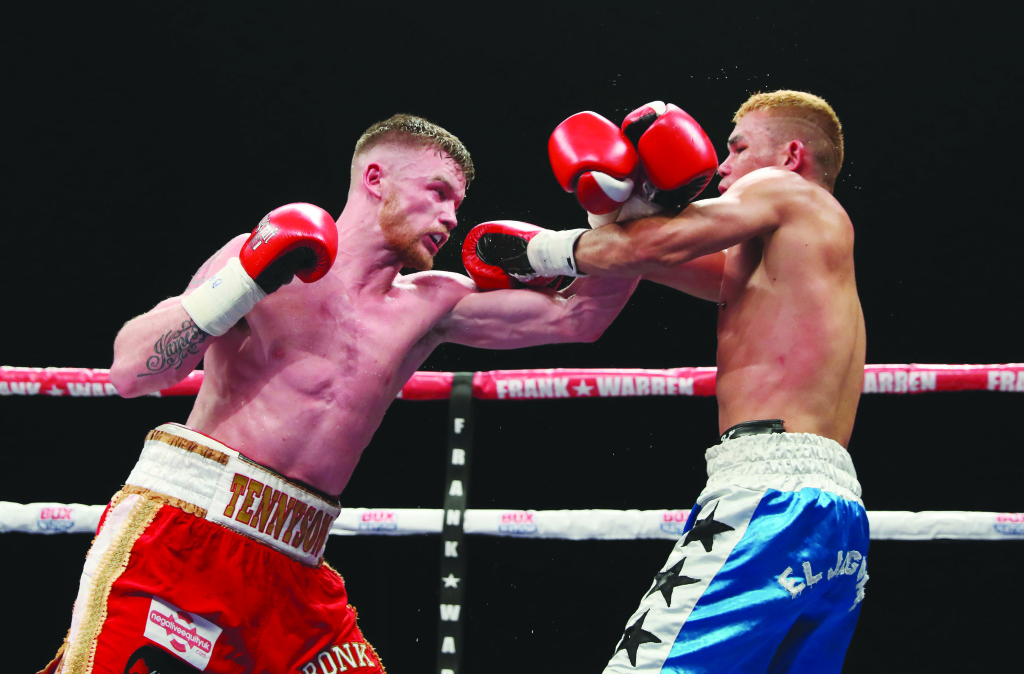 A cut sustained against Rafael Castillo saw Tennyson's bid to reclaim the Irish super-featherweight title moved to this Friday at the Waterfront Hall