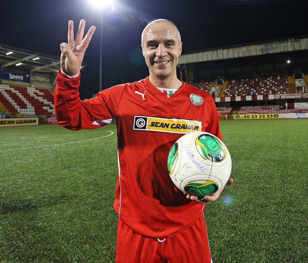 Current Cliftonville manager Gerard Lyttle