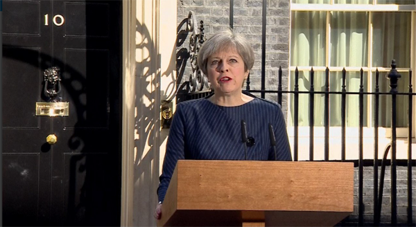 Prime Minister Theresa May has called a general election for June 8