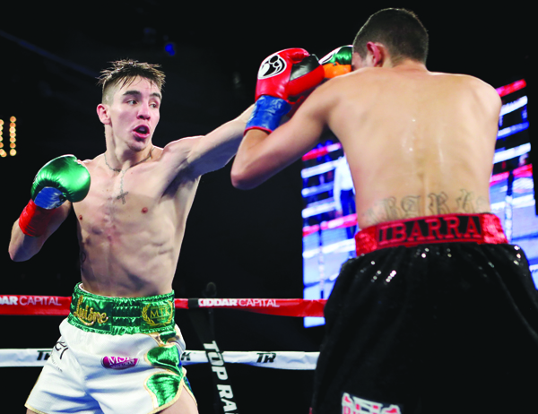 Michael Conlan believes he will show the improvements in his game since his debut win over Tim Ibarra on St Patrick's Day in New York