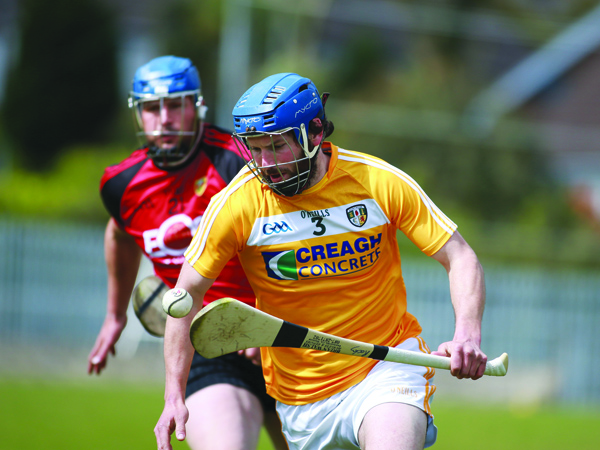 Antrim joint-manager, Dominic McKinley has been delighted with the performances of John 'Rocky' Dillon this season