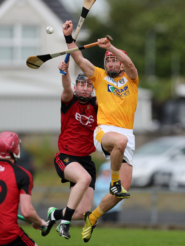 Antrim's Simon McCrory says the Saffrons won't lack in motivation when they take on Carlow in Saturday's decider