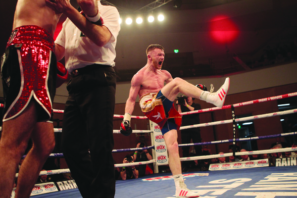 TEENY KICKS: James Tennyson says his confidence is high folowing his victory over Declan Geraghty in March