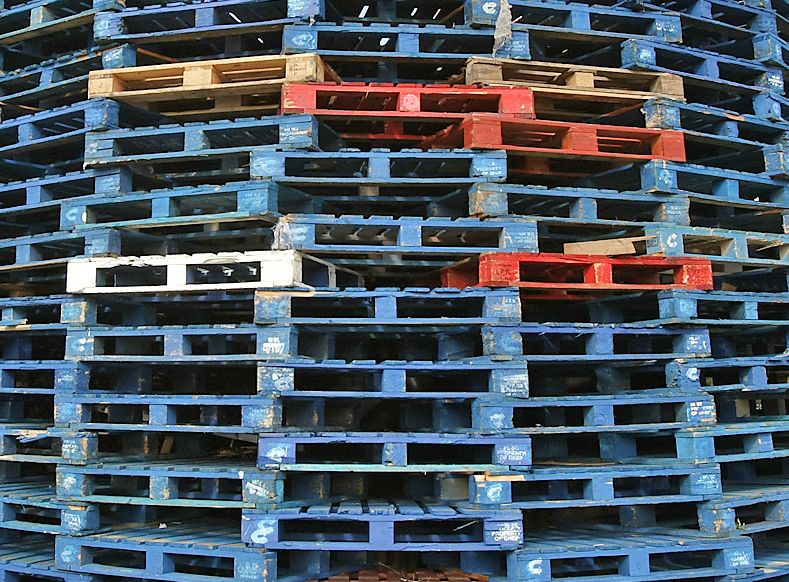 INVESTIGATION: A probe has been launched into the decision by Belfast City Council to store pallets for bonfire builders. File picture.