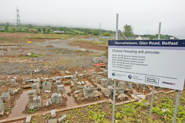DESOLATE: The Glen Road site