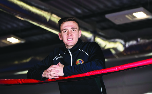 Brendan Irvine has established himself as one of the top names in the Irish Elite team despite being just 21 years-old Mandatory Credit ©INPHO/Tommy Dickson