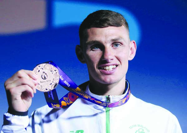 Sean McComb wants further Elite success having won bronze at the 2015 European Games Mandatory Credit ©INPHO/Ryan Byrne