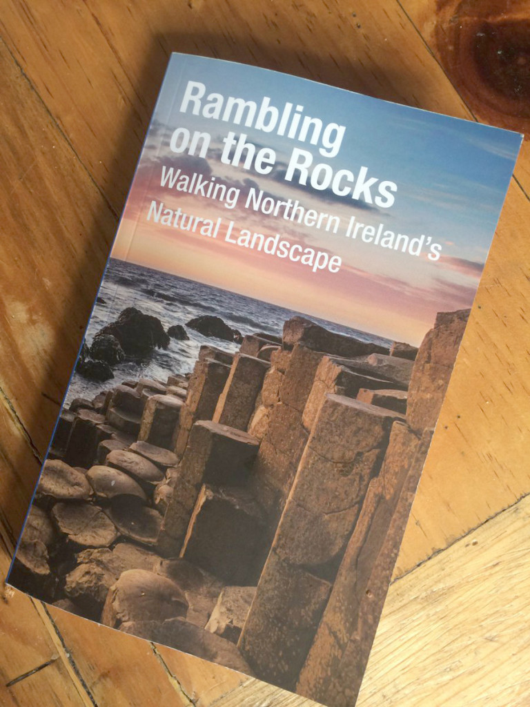 The new book features the Cave Hill